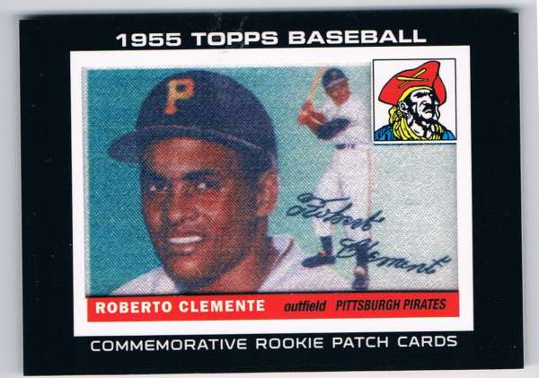 Details About 2014 Topps Rookie Card Patch Image Cards Rcp 5 Roberto Clemente Nm Mt Mem Pirat